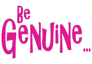 be_genuine